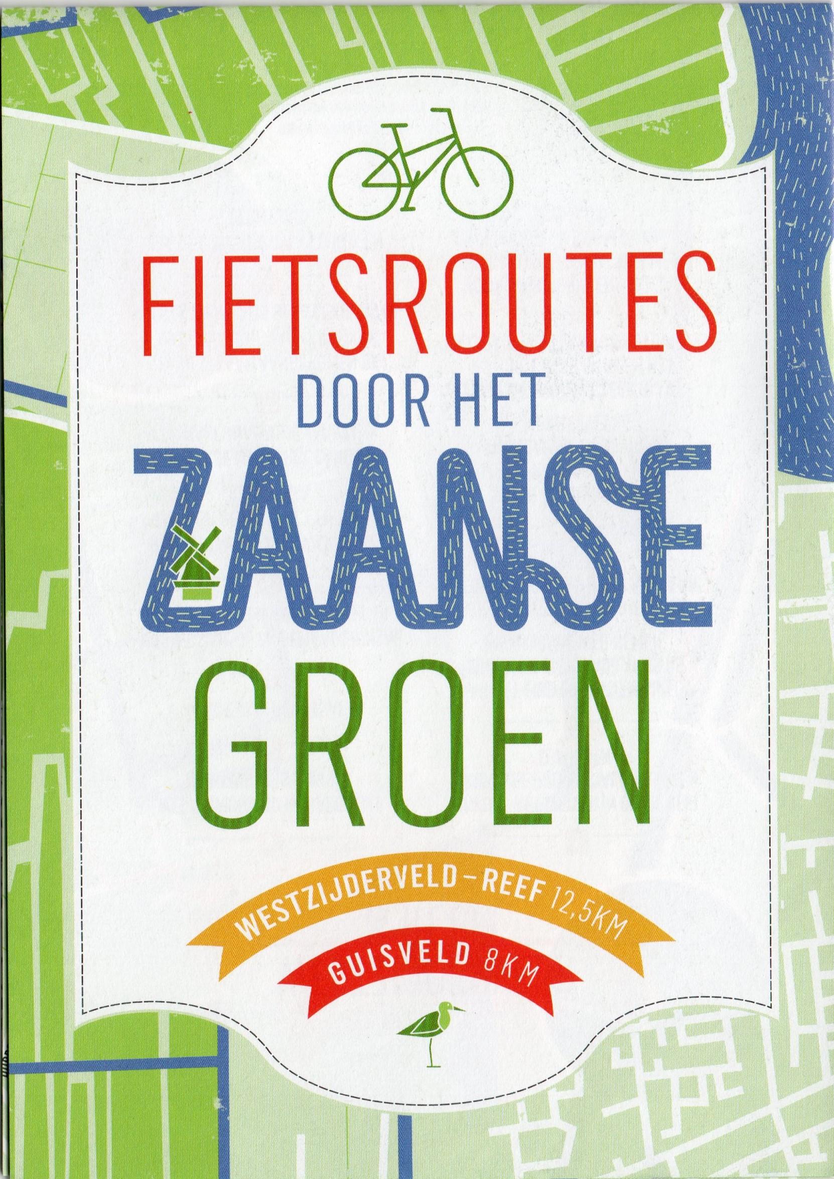 Fietsroutes door het Zaanse groen