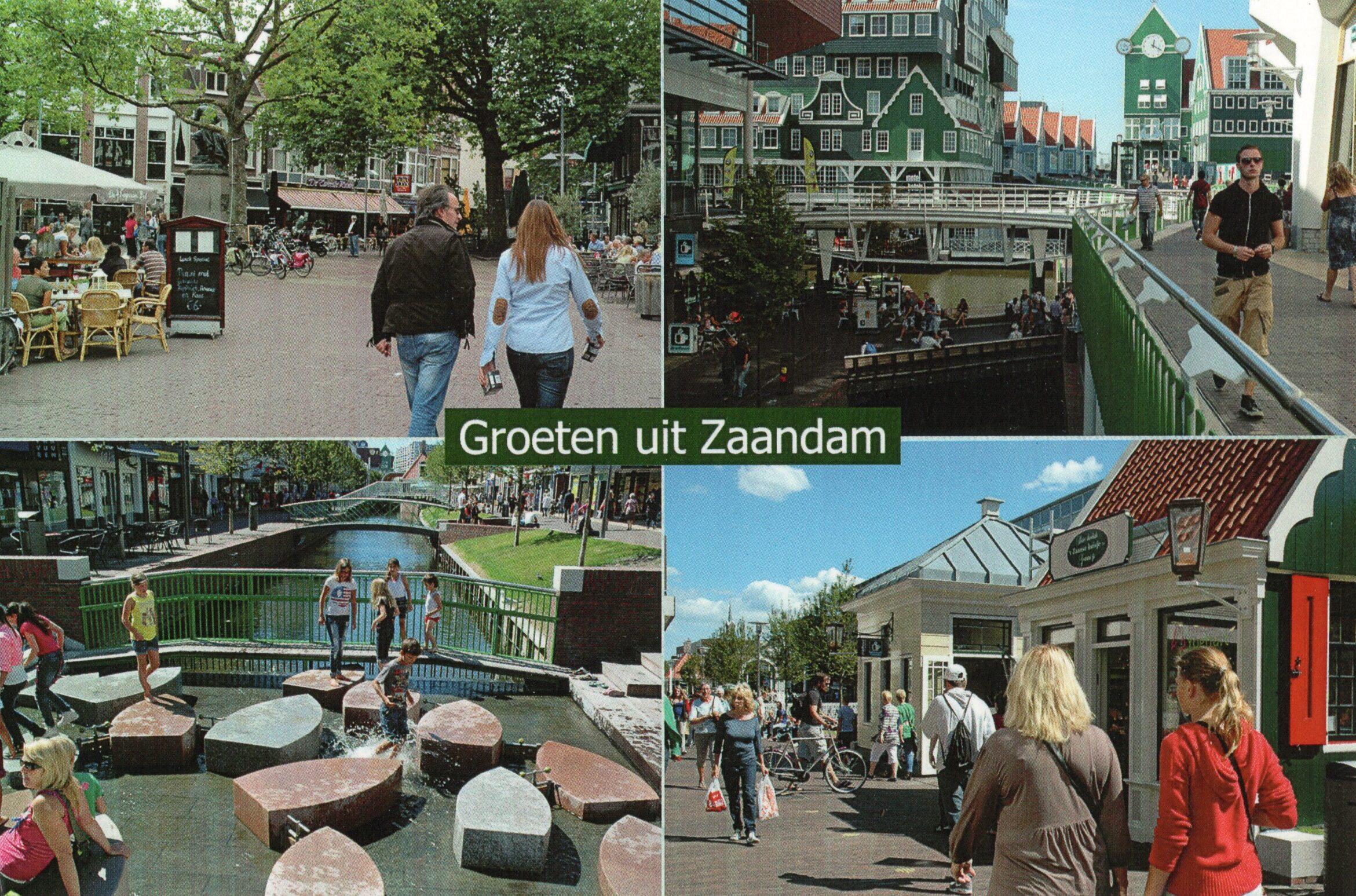 Groeten uit Zaandam